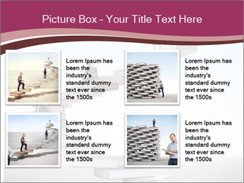 People on 3d book PowerPoint Templates - Slide 14
