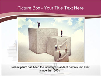 People on 3d book PowerPoint Templates - Slide 15