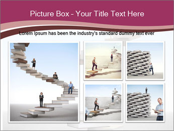 People on 3d book PowerPoint Templates - Slide 19