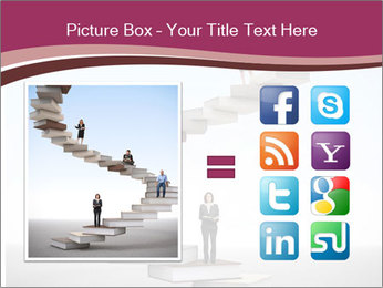People on 3d book PowerPoint Templates - Slide 21