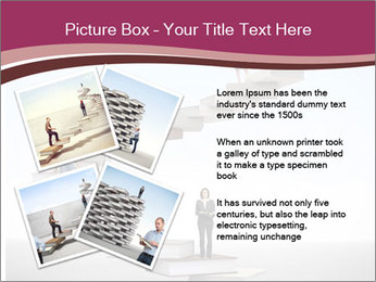 People on 3d book PowerPoint Templates - Slide 23