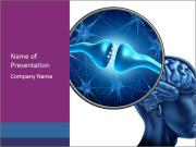 Human nerve PowerPoint Templates