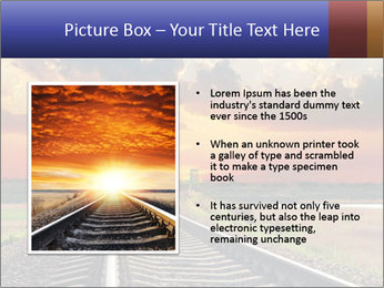 Red sunset PowerPoint Templates - Slide 13
