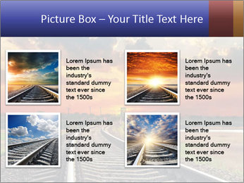 Red sunset PowerPoint Templates - Slide 14