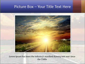 Red sunset PowerPoint Templates - Slide 16