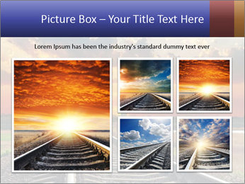 Red sunset PowerPoint Templates - Slide 19