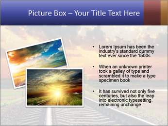 Red sunset PowerPoint Templates - Slide 20