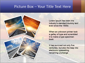 Red sunset PowerPoint Templates - Slide 23