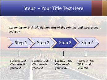 Red sunset PowerPoint Templates - Slide 4