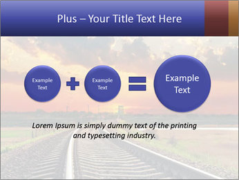 Red sunset PowerPoint Templates - Slide 75
