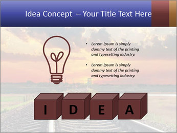 Red sunset PowerPoint Templates - Slide 80