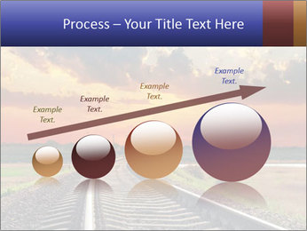 Red sunset PowerPoint Templates - Slide 87