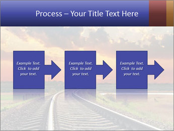 Red sunset PowerPoint Templates - Slide 88