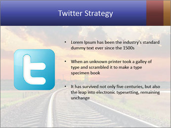 Red sunset PowerPoint Templates - Slide 9