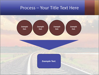 Red sunset PowerPoint Templates - Slide 93
