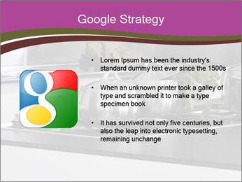 Detail of steel PowerPoint Template - Slide 10