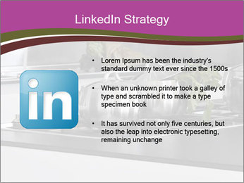 Detail of steel PowerPoint Template - Slide 12