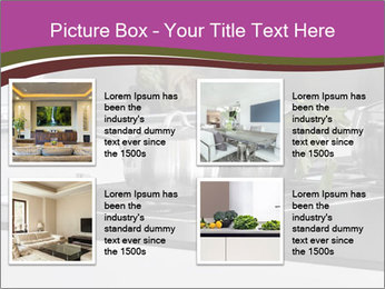 Detail of steel PowerPoint Template - Slide 14