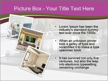 Detail of steel PowerPoint Template - Slide 17