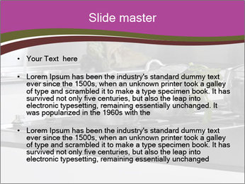 Detail of steel PowerPoint Template - Slide 2