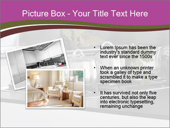 Detail of steel PowerPoint Template - Slide 20