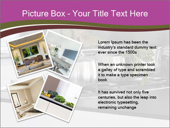 Detail of steel PowerPoint Template - Slide 23