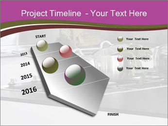 Detail of steel PowerPoint Template - Slide 26