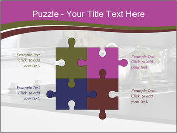 Detail of steel PowerPoint Template - Slide 43