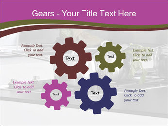 Detail of steel PowerPoint Template - Slide 47