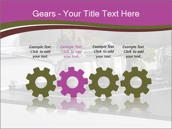 Detail of steel PowerPoint Template - Slide 48