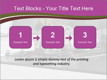 Detail of steel PowerPoint Template - Slide 71
