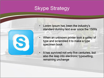 Detail of steel PowerPoint Template - Slide 8