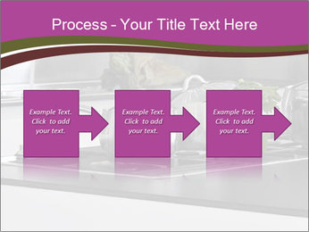 Detail of steel PowerPoint Template - Slide 88