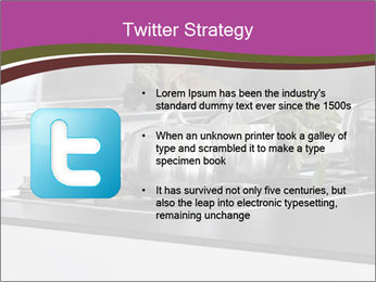Detail of steel PowerPoint Template - Slide 9