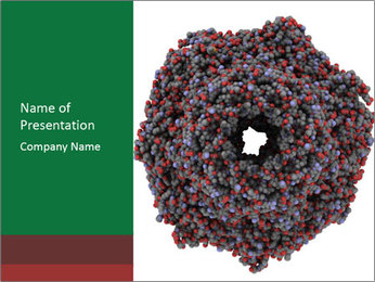 The proteasome PowerPoint Template - Slide 1