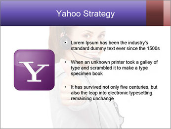 Young woman PowerPoint Template - Slide 11