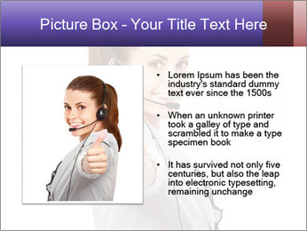 Young woman PowerPoint Template - Slide 13