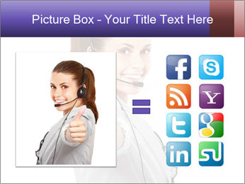 Young woman PowerPoint Template - Slide 21