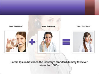 Young woman PowerPoint Template - Slide 22