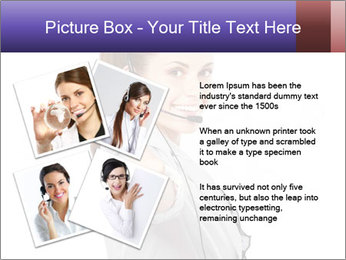 Young woman PowerPoint Template - Slide 23