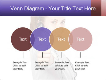 Young woman PowerPoint Template - Slide 32