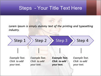 Young woman PowerPoint Template - Slide 4