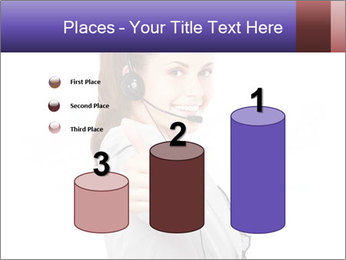 Young woman PowerPoint Template - Slide 65