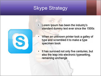Young woman PowerPoint Template - Slide 8