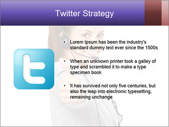 Young woman PowerPoint Template - Slide 9