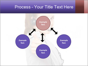 Young woman PowerPoint Template - Slide 91
