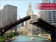 Downtown Chicago PowerPoint Templates
