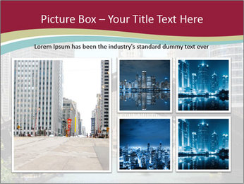 Downtown Chicago PowerPoint Templates - Slide 19