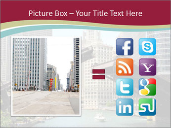 Downtown Chicago PowerPoint Templates - Slide 21