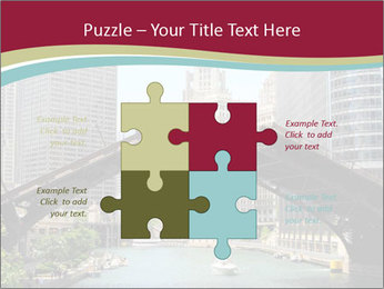 Downtown Chicago PowerPoint Templates - Slide 43
